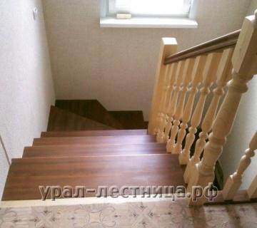 П-образная лестница в д.Красный Адуй