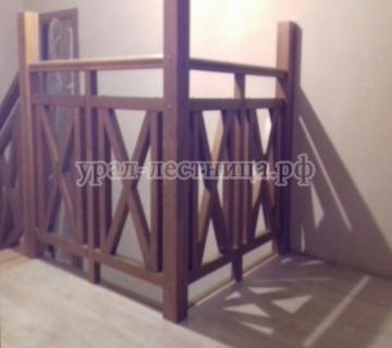 Лестница с 1 на 3 этаж в п. Белоярский