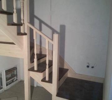 Лестница из бука в Чебаркуле
