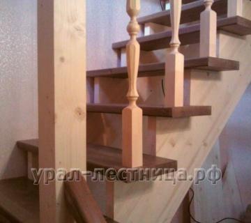 Лестница Г-образная без подступенников — Сад Спутник