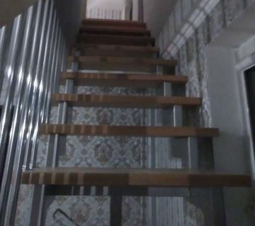 Металлокаркас ступени и ограждение в г. Челябинске