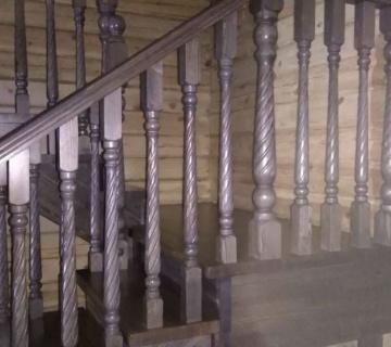 Лестница полностью из сосны сорт А в к.п.Заречный