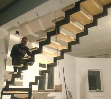 Металлокаркас со ступенями в г. Арамиль
